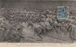 Carte Maximum -   Orléans - Bas Relief - Jeanne D'Arc - France