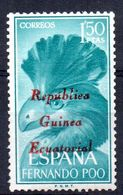 Sello De Fernando Poo Con Sobrecarga Guinea Ecuatorial - Fernando Poo