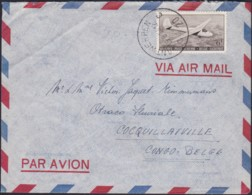 Belgie  .    OBP   .    LP 28 Op Brief (2 Scans)   .      O   .       Gebruikt  .   /    .    Oblitéré - Airmail