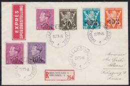 Belgie     .    OBP   .   Brief  (2 Scans)     .      O      .       Gebruikt  .   /    .    Oblitéré - Used Stamps