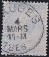 Belgie     .    OBP   .    41     .      O      .       Gebruikt  .   /    .    Oblitéré - 1883 Leopold II