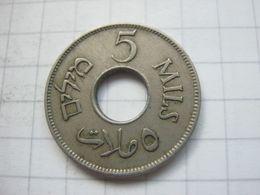 Palestine , 5 Mils 1939 - Autres – Asie