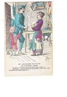 Cpm - Illustration Humoristique Série Les Gauloiseries Françaises Le Sixième Gosse Soldat Femme Allaite Bébé Guerre 1914 - Humor