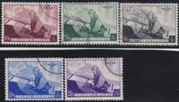 Belgie     .    OBP   .    466/470       .      O      .       Gebruikt  .   /    .    Oblitéré - Used Stamps