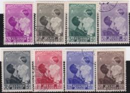 Belgie     .    OBP   .    447/454      .      O      .       Gebruikt  .   /    .    Oblitéré - Used Stamps