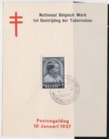 Belgie     .    OBP   .   446 Op Kaartje    .      O      .       Gebruikt  .   /    .    Oblitéré - Used Stamps