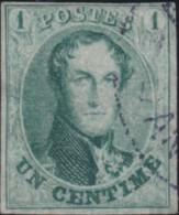 Belgie     .    OBP        .     9  (2 Scans)       .      O      .       Gebruikt  .   /    .    Oblitéré - 1858-1862 Medaillen (9/12)