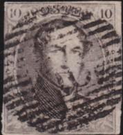 Belgie     .    OBP        .     6      .      O      .       Gebruikt  .   /    .    Oblitéré - 1851-1857 Medallions (6/8)