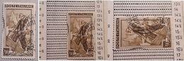 # Italia Al Lavoro 200 Lire Fil. 2 DB - Dent. 13 1/4 X 14 1/4 - 1946-.. République