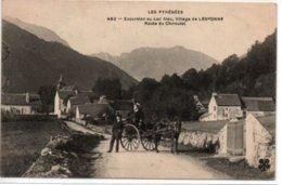Village De Lesponne-Route Du Chiroulet - Autres Communes