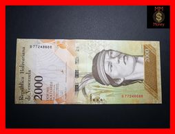 VENEZUELA 2.000 2000 Bolivares 18.8.2016 P. 96  Wmk Bolivares  UNC - Venezuela