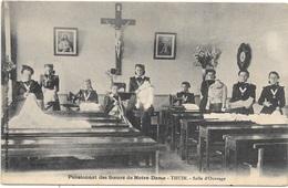 Thuin NA102: Pensionnat Des Soeurs De Notre-Dame. Salle D'Ouvrage 1913 - Thuin