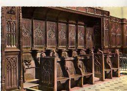 21 FLAVIGNY SUR OZERAN Interieur De L'Eglise Les Stalles XIII° XIV°s - France