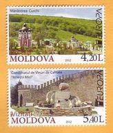 2012 Moldova Moldavie  Europa Cept  1v Mint Visit Moldova. Tourism, Cricova, Kurki, Christianity, - Europa-CEPT
