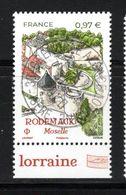 France 2020.Rodemack Moselle La Petite Carcassonne Lorraine.cachet Rond Gomme D'Origine - Frankreich