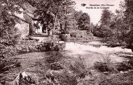 87. HAUTE-VIENNE - MASLEON. Moulin Sur La Combade. - Otros Municipios