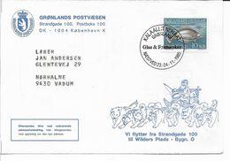 Greenland - Greenland Post - Change Of Address. B-2097 - Groenlandia