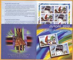 2010  Moldova Moldavie Moldau  Europa Cept  Children's Books. Cock. Booklet  Mint - 2010