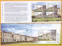2017 Moldova Moldavie Moldau Booklet Europa - Cept  Castle. Mimi. Bulboaca - 2017