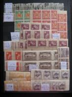 Enorme Lot De Timbres Du Japon De La Période 1920/1940  . Neufs XX, X Et Oblitérés. Cote > 10000€ - Sellos