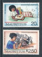°°° MAURITIUS - Y&T N°680/83 - 1987 °°° - Mauritius (1968-...)
