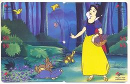 Disney $5 Canada,  4 Prepaid Calling Cards, PROBABLY FAKE, # Fd-29 - Disney