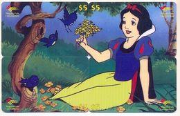 Disney $5 Canada,  4 Prepaid Calling Cards, PROBABLY FAKE, # Fd-30 - Disney
