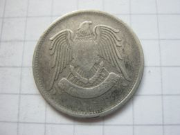 Syria , 25 Piastres 1366 (1947) - Syrie