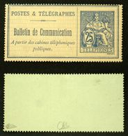 TELEPHONE N° 16 -  NEUF NSG TB - Cote 100€ Signé Calves - Telegraph And Telephone