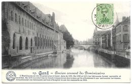 Belgium – Gand (Gent) – Ancien Couvent Des Dominicains – Year 1920 – Stamp 5 C With King Albert - Gent