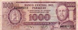 PARAGUAY 1000 GUARANIES 1982 P-207a  CIRC. - Paraguay