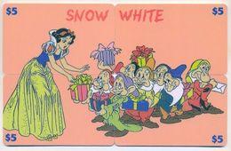 Disney $5, LPCD, 4 Prepaid Calling Cards, PROBABLY FAKE, # Fd-31 - Puzzles