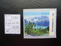 """2020  """" Schlegeis  """" Aus Wertzeichenautomat Mit Nummer,  Postfrisch  LO 1087 - 2011-... Ungebraucht"""
