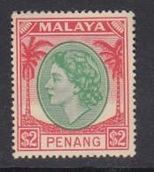 Malaya Penang Sc 21 (SG 72), MHR - Penang
