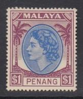 Malaya Penang Sc 20 (SG 71), MHR - Penang