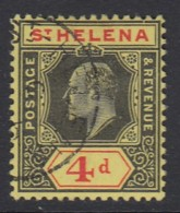 St. Helena Sc 57 (SG 66), Used - Saint Helena Island