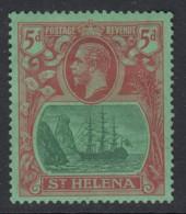 St. Helena, Sc 84 (SG 103), MHR - Saint Helena Island