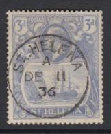 St. Helena, Sc 83 (SG 101), Used - Saint Helena Island