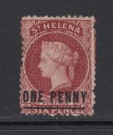 St. Helena, Sc 12 (SG 8), MNG (no Gum) - Saint Helena Island