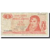Billet, Argentine, 1 Peso, KM:287, TB - Argentinien