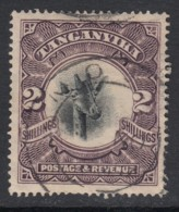 Tanganyika, Sc 24a (SG 84), Used (crease) - Kenya, Uganda & Tanganyika