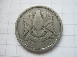 Syria , 10 Piastres 1367 (1948) - Syrie