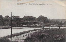 Menaucourt Canal De La Marne Au Rhin Le Port - Other Municipalities