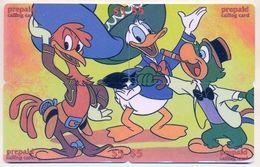 Disney $5 LDPC,  4 Prepaid Calling Cards, PROBABLY FAKE, # Fd-35 - Disney