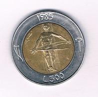 500 LIRE 1985 SAN MARINO /5244/ - Saint-Marin