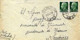 Cachet Militaire Nº 53 Sur Lettre Vers Sondrio 1942. Voir 2 Scan - Correo Militar (PM)