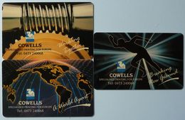 UK / TURKEY - Set Of 3 - Magnetic Demo's - Cowells - BSBX '91 - RARE - Royaume-Uni