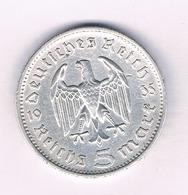 5 MARK 1935 DUITSLAND /5246/ - [ 4] 1933-1945 : Tercer Reich