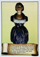 Figure De Proue De Goelette ALEXANDRA  - Naufrage   Dielette Env. Tréauville  - Descriptif Maçonnique Verso    -  1970s - Philosophie & Pensées