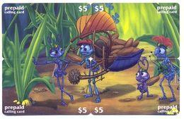 Disney $5, LDPC,  4 Prepaid Calling Cards, PROBABLY FAKE, # Fd-40 - Disney
